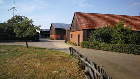 Foto 7 – Besuch des Hofes Wübbelt in der Bauernschaft Orthöve