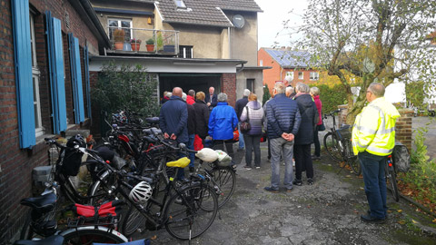 Foto 2 – Herbstabschluss mit Einkehr beim Heimatverein Dorf Hervest