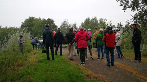 Foto 1 – Radtour Thema Bäche und Feuchtgebiete in Dorsten (Nordbereich)