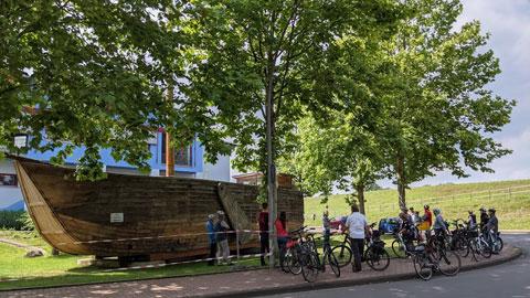 """Foto 2 – Gebuchte Radtour zum Thema """"vom Einkorn zum Mehrkorn – Kulturgeschichte des Getreides"""" mit Petra Eißing"""""""