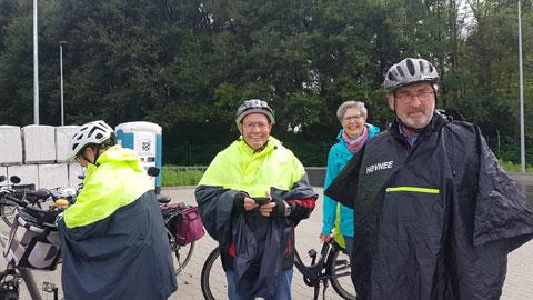 Foto 3 – Radtour mit Bürgermeister Tobias Stockhoff - Besuch der MUNA in Wulfen