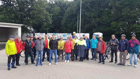 Foto 4 – Radtour mit Bürgermeister Tobias Stockhoff - Besuch der MUNA in Wulfen