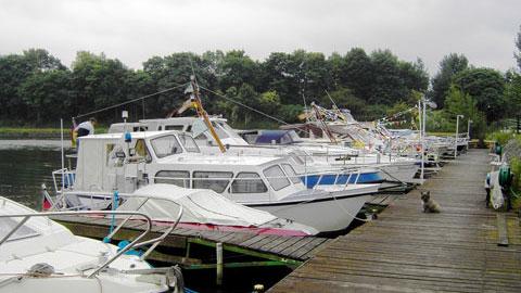 """Sportboothafen """"Fürst-Leopold"""""""