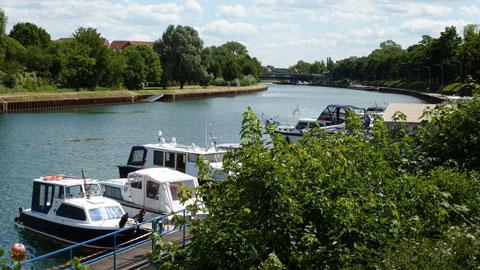 "Yachthafen ""Hanse-Marina-Dorsten"""