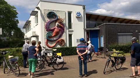 """Radtour zum Thema """"Öffentliche Kunst"""""""
