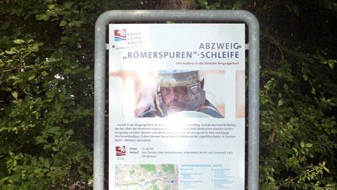 """Abzweig """"Römerspuren""""-Schleife"""