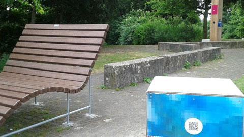 """Erlebnisstation """"Stadt – Land – Fluss """" am Maria Lindenhof"""