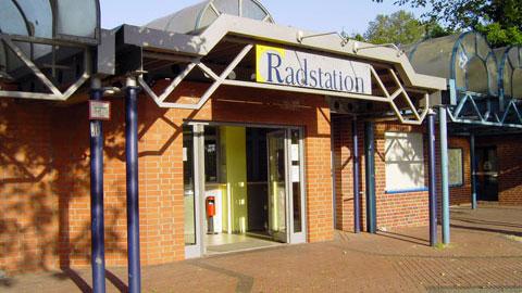Radstation am Dorstener Busbahnhof