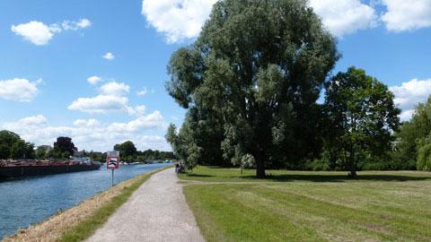 Radweg am Wesel-Datteln-Kanal