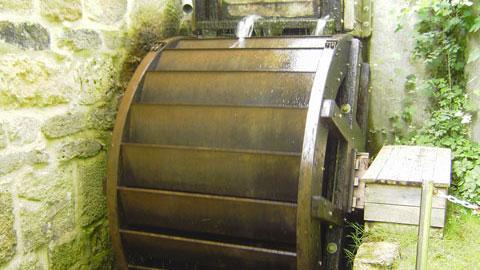 Mühlrad, Rhader Wassermühle