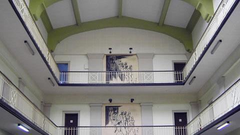 Lohnhalle auf Fürst Leopold