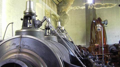 Dampfmaschine auf Fürst Leopold
