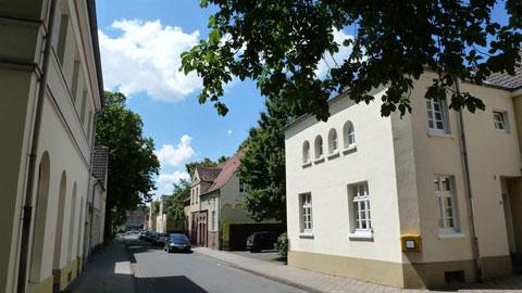 denkmalgeschützte Gartenstadt – Zechensiedlung Hervest