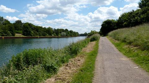 Rundwanderweg am Wesel-Datteln-Kanal