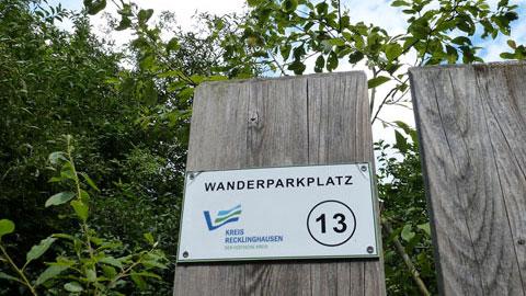 Wanderparkplatz Nr. 13