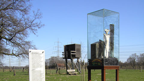 """Heilige Barbara"" – Kunst-Natur im Ruhrkulturgarten Hof Dalhaus"